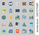 icons set about travel. with... | Shutterstock .eps vector #1007279389