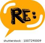 bubble speech vector icon | Shutterstock .eps vector #1007290009