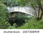 Small photo of Old bridge over the Swart river on the seven passes near George, South Africa