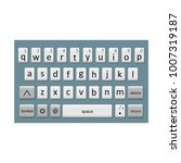 keyboard of smartphone ...
