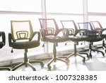 luxury office furniture. office ... | Shutterstock . vector #1007328385