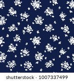 cute seamless pattern. vector... | Shutterstock .eps vector #1007337499