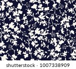 seamless floral pattern in...   Shutterstock .eps vector #1007338909
