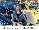 fitness  sport  bodybuilding ... | Shutterstock . vector #1007356021