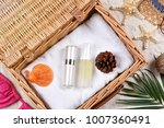 summer facial skincare... | Shutterstock . vector #1007360491