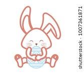 happy easter design   Shutterstock .eps vector #1007361871