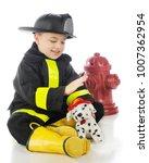 """an aodrable preschool """"fireman"""" ...   Shutterstock . vector #1007362954"""