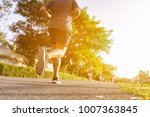 people running race marathon. | Shutterstock . vector #1007363845