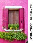italy  venice  burano island.... | Shutterstock . vector #1007367541