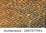 pattern stone wall texture for... | Shutterstock . vector #1007377591