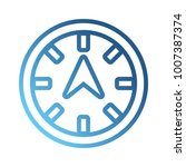 compass icon image   Shutterstock .eps vector #1007387374