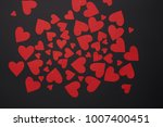 happy valentines day love... | Shutterstock . vector #1007400451