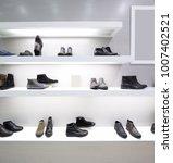 bright and fashionable interior ... | Shutterstock . vector #1007402521