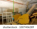 old equipment for milk... | Shutterstock . vector #1007406289