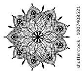 mandalas for coloring book.... | Shutterstock .eps vector #1007408521