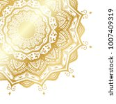 gold vector mandala | Shutterstock .eps vector #1007409319