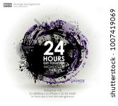 template colour grunge the... | Shutterstock .eps vector #1007419069