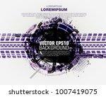 template grunge poster for... | Shutterstock .eps vector #1007419075