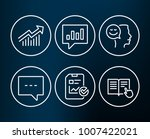 set of demand curve  blog and... | Shutterstock .eps vector #1007422021