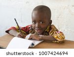 african ethnicity child with... | Shutterstock . vector #1007424694