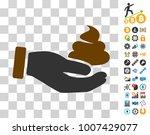hand offer shit icon with bonus ...