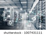 big data analytics | Shutterstock . vector #1007431111