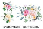 bouquets for decoration... | Shutterstock .eps vector #1007432887