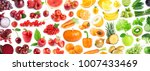 fruits and vegetables.... | Shutterstock . vector #1007433469