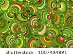 abstract vector color... | Shutterstock .eps vector #1007434891