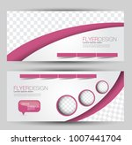 flyer banner or web header... | Shutterstock .eps vector #1007441704