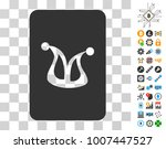 joker gaming card pictograph...