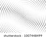 abstract halftone wave dotted... | Shutterstock .eps vector #1007448499