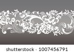 lace seamless pattern | Shutterstock .eps vector #1007456791
