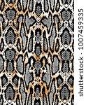 snake texture background | Shutterstock .eps vector #1007459335