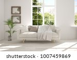 idea of white room with sofa... | Shutterstock . vector #1007459869