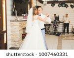 beautiful caucasian wedding... | Shutterstock . vector #1007460331