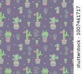 pattern from graphic drawings ... | Shutterstock .eps vector #1007461717