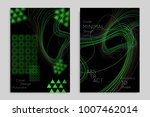 abstract banner template with... | Shutterstock .eps vector #1007462014
