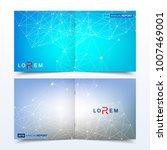 scientific templates square...   Shutterstock .eps vector #1007469001
