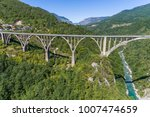 aerial view of the djurdjevica... | Shutterstock . vector #1007474659