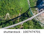 aerial view of the djurdjevica... | Shutterstock . vector #1007474701