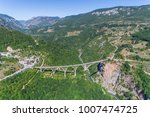 aerial view of the djurdjevica... | Shutterstock . vector #1007474725