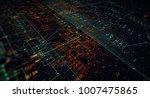 blockchain network concept  ... | Shutterstock . vector #1007475865