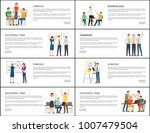 business idea strategy... | Shutterstock .eps vector #1007479504