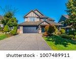 big custom made luxury house... | Shutterstock . vector #1007489911