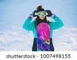 leisure  winter  sport concept  ... | Shutterstock . vector #1007498155