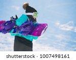 leisure  winter  sport concept  ... | Shutterstock . vector #1007498161