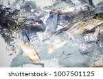 very beautiful art. abstract... | Shutterstock . vector #1007501125