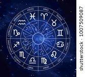 vector graphics astrology set.... | Shutterstock .eps vector #1007509087
