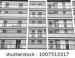 modern apartment buildings.... | Shutterstock . vector #1007513317